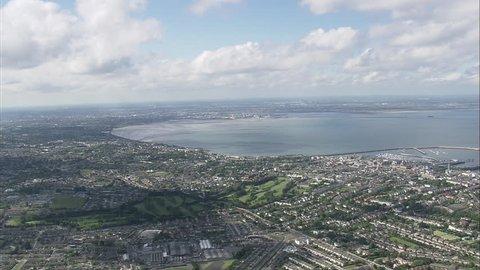 AERIAL Ireland-Dublin Harbour 2006: Dublin Bay