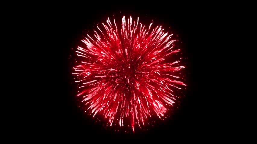 Super Firework Red, Holliday, Celebration, New Year, The 4th of July, Christmas, Festival | Shutterstock HD Video #1005606940