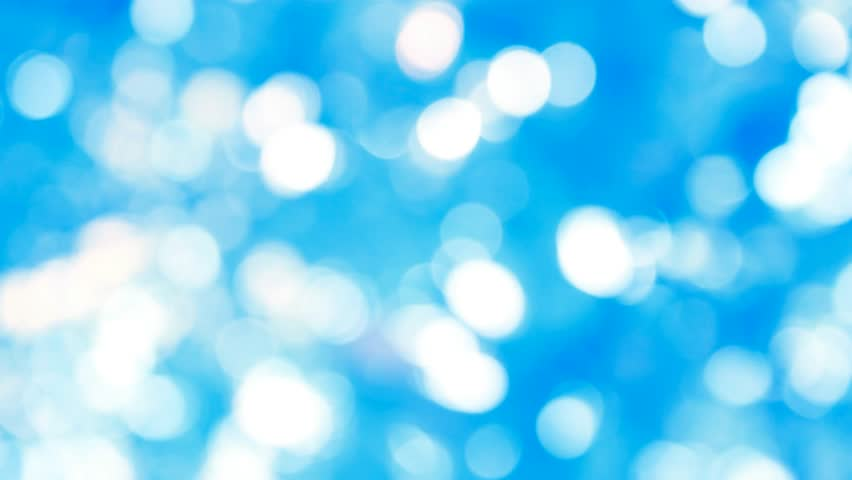 Ultra HD blue bokeh circles abstract background (seamless loop), blured blue lights - loopable backgrounds, shiny blue defocused lights. computer generated seamless loop abstract. 3840x2160.