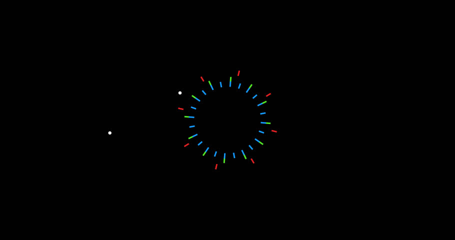 Flat motion graphic firework in PNG format with alpha transparency channel background. Happy celebration design.