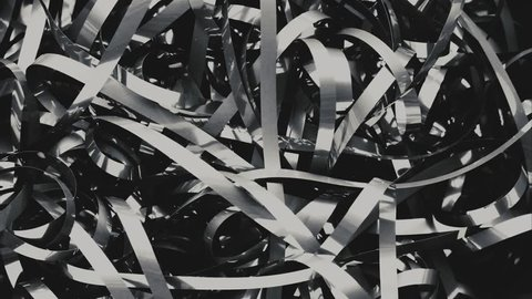 Macro film tape fast movement. Abstract background with room for text - short loopable stop motion sequence.