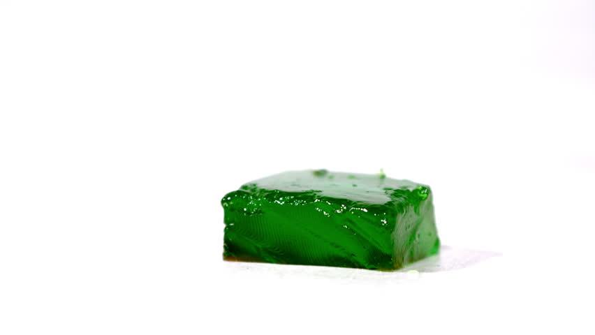 Header of gelatin