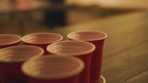 Beer Pong CloseUp