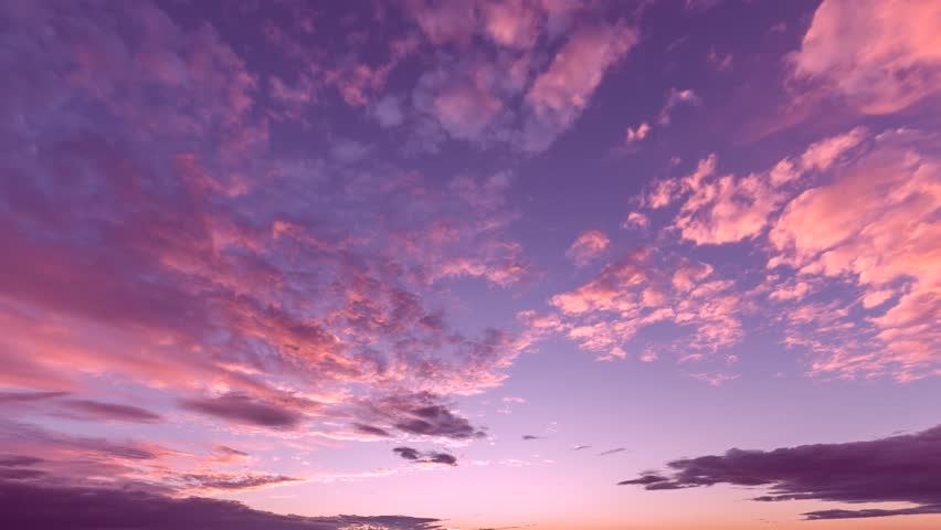 SUNSET TIME LAPSE, NATURE EVENING TIME. Beautiful sunset, time-lapse, Beautiful Sunrise, Sunrise view from Santa Susana Pass State Historic Park in western. Beautiful yellow cloudscape with large, UHD