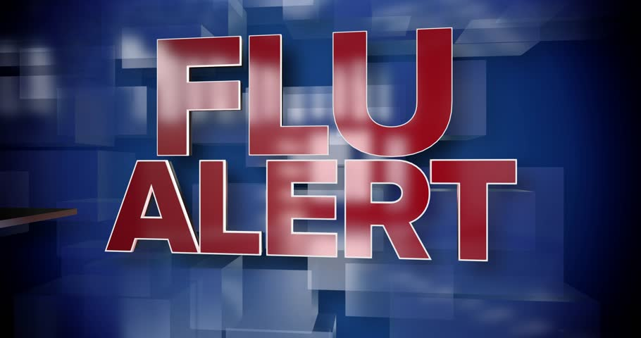A red and blue dynamic 3D Flu Alert title page background animation.	 	 | Shutterstock HD Video #1007162230