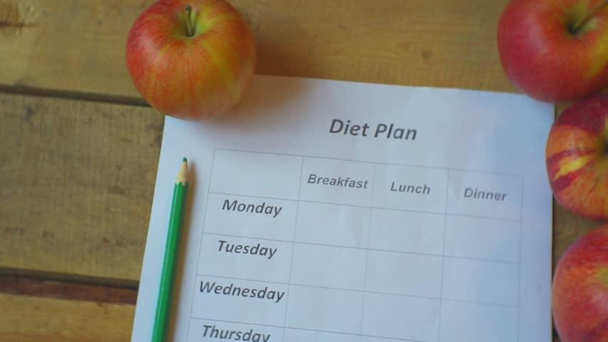 Diet Plan ripe Apples Blank Food Stock Footage Video (100% Royalty-free)  1007321170   Shutterstock