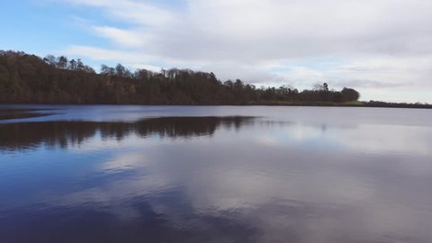 Mugdock reservoir at Milngavie. Supplies water to the city of Glasgow.