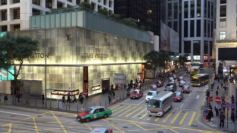 500+ Louis Vuitton Hong Kong Stock Video Clips and Footage (Royalty ... 977435572fa