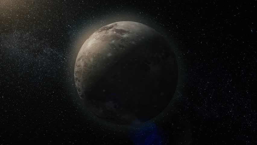 Cosmic art, science fiction wallpaper. Beauty of deep space. Billions of galaxies in the universe. Gas giant planet. Beauty of deep space. Billions of galaxies in the universe. Incredibly beautiful   Shutterstock HD Video #1007622793
