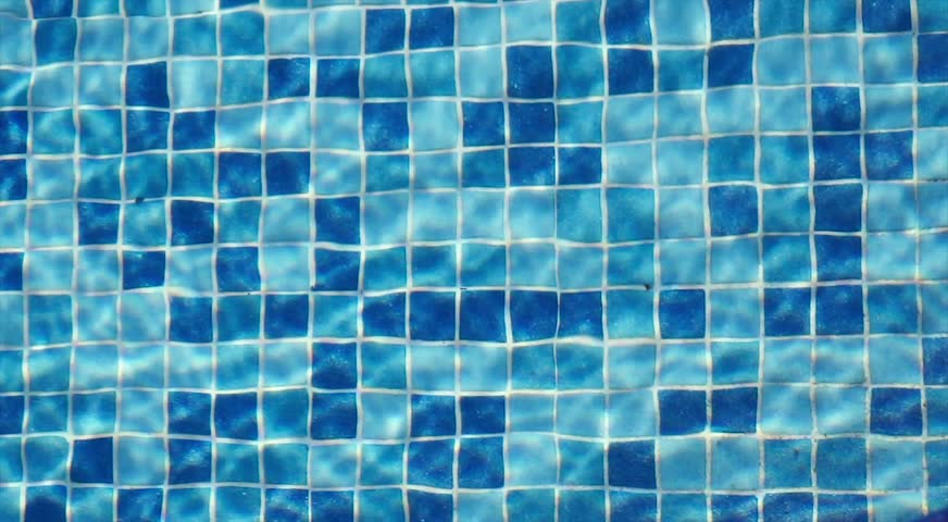Blue Swimming Pool Water with mosaic tiles water movement | Shutterstock HD Video #1007724400