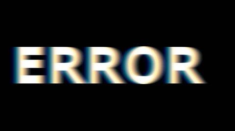 Error. A critical error in the software