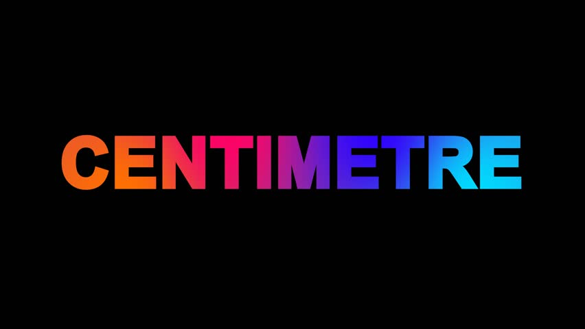 Header of centimetre