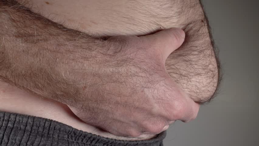 Член в волосатом влагалище