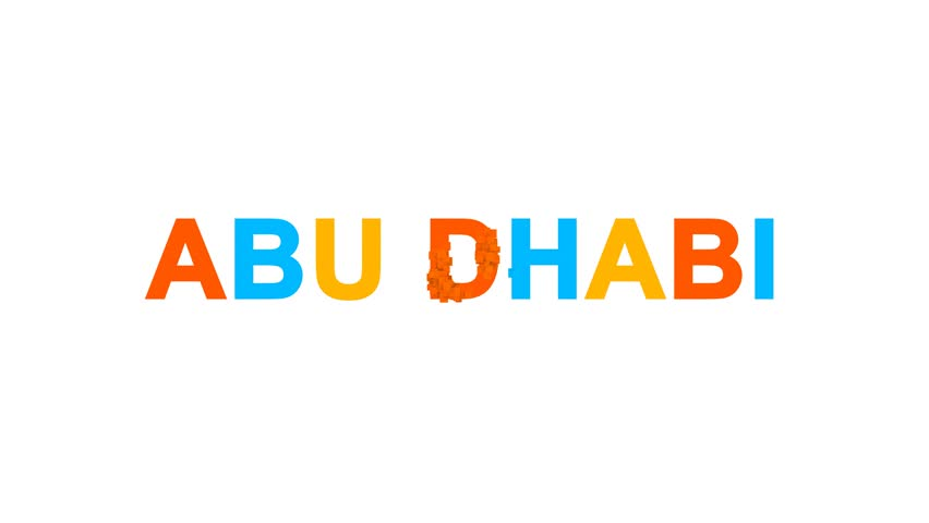 Image result for Abu Dhabi name