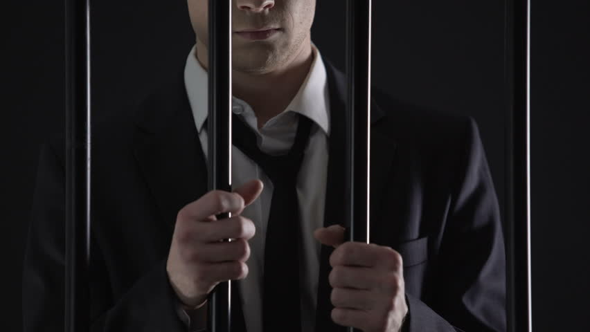 Detained billionaire waiting for court in prison, tax evasion, illegal business   Shutterstock HD Video #1008576850