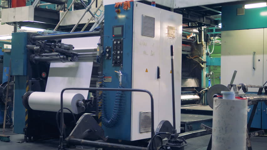 Units industry printing equipment