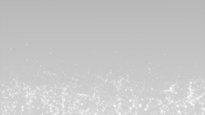 4K. Abstract Silver Christmas motion background. White round glitter bokeh particles and light. New year collection   Shutterstock HD Video #1009047680