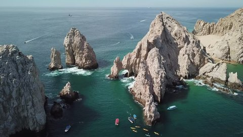 The arch in Los Cabos in Baja California Sur in Mexico Latin America