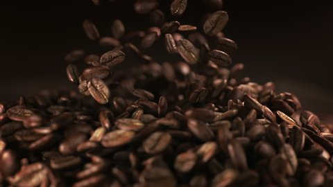 1000 Water Drop With Coffee Bean Stock Video Clips And