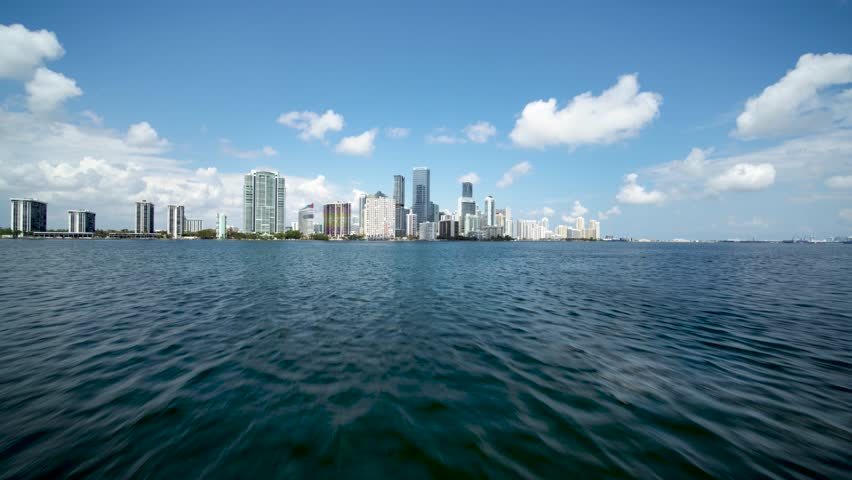 Downtown Miami by Aerial Drone
