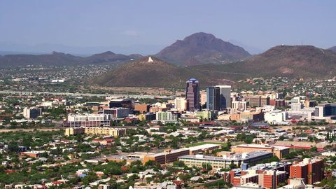 Tucson Cityscape by Aerial Drone