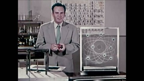 CIRCA 1950s - The cyclotron is explained in the 1950s.
