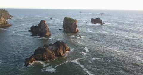 Small Islands off the coast