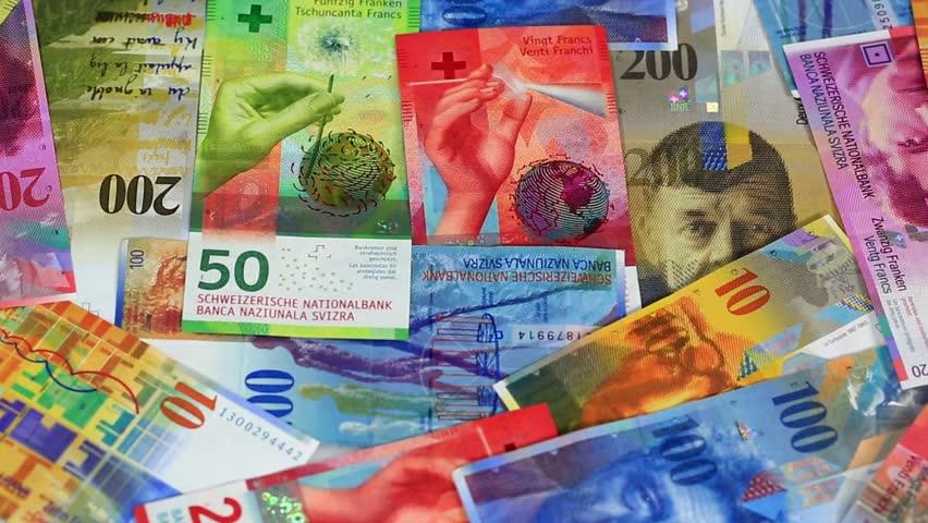 Swiss franc banknote   Shutterstock HD Video #1009393310