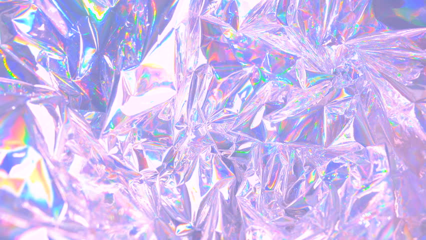"""Modern beautiful holographic background in 80""""s style. Trendy design of webpunk and vaporwave. 4k video"""