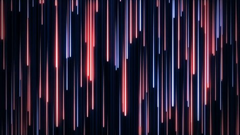 Blue red neon animated VJ background