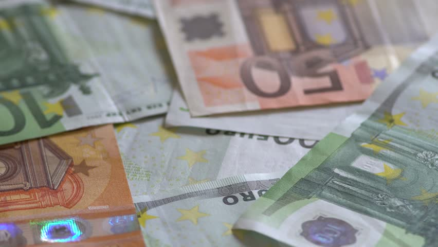 Rotation Of Euro Banknotes | Shutterstock HD Video #1009998560