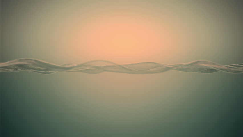 Seamless looping animation. Beautiful waving water slow motion. Abstract water animation background.