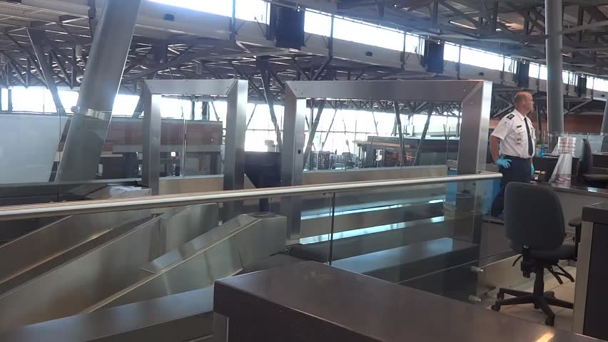 OTTAWA, CANADA – AUGUST 10 2014: ottawa canada airport   Shutterstock HD Video #10106636
