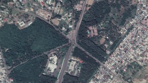 Earth Zoom In Zoom Out Brazzaville Republic of the Congo