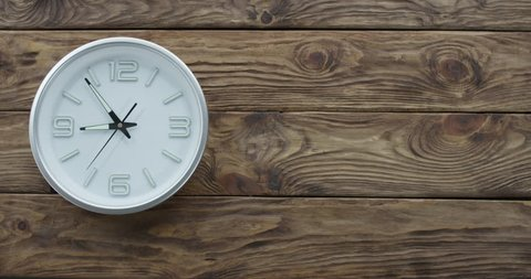 Timelapse of Clocks Showing Nine