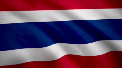 National flag of Thailand. Flag of Thailand background