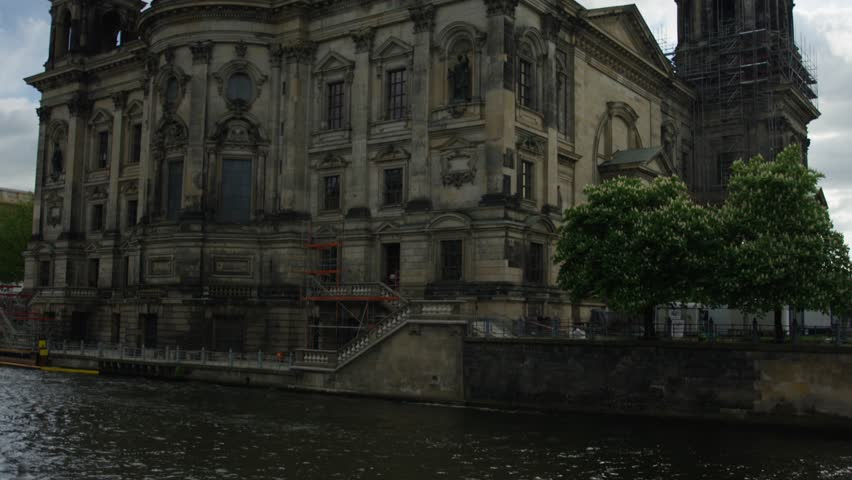 Berlin Cathedral during a nice summer spring day in Germany