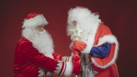 Comic brawl. Who is Chief Santa?
