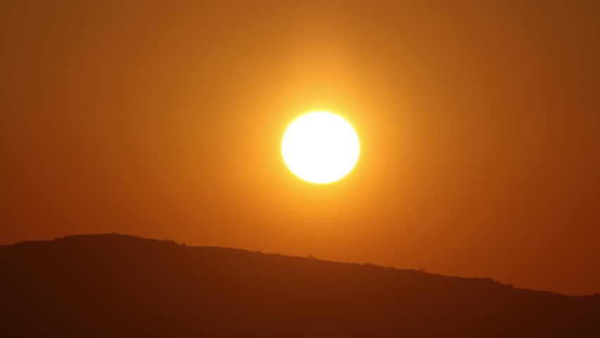 Beautiful sunset time lapse. #1011329300