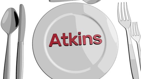 Atkins diet animation cartoon