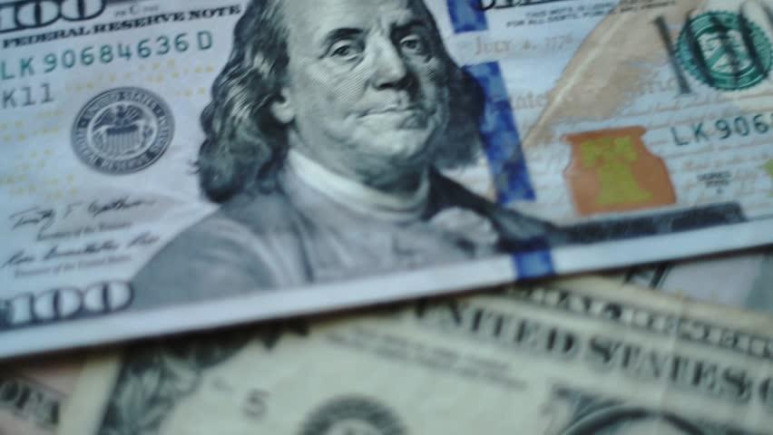 Money of usa   Shutterstock HD Video #1011832430
