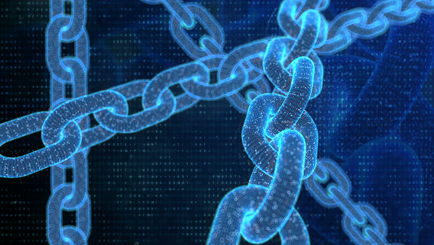 Blockchain, bitcoin, cryptography background, programming, coding  | Shutterstock HD Video #1011981080