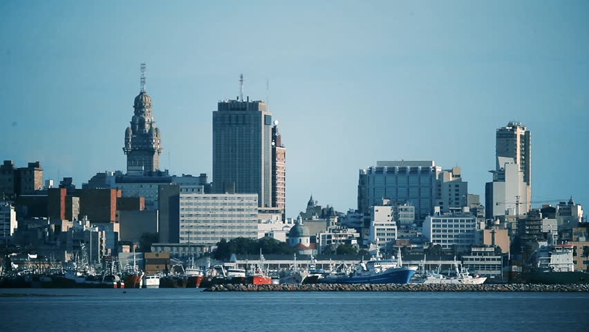 Montevideo General View. Zoom In.