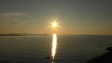 Sunset on the west coast of Okinawa 1.mov