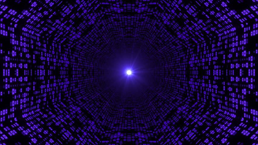Abstract space background, Abstract tunnel grid. Can be used as digital dynamic wallpaper, technology background. | Shutterstock HD Video #1012284170
