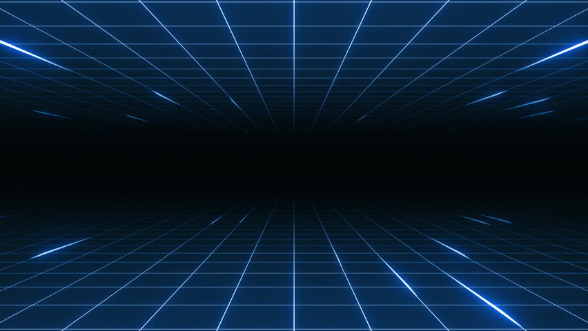 Retro-futuristic 80's synthwave grid background. Perfectly looped opener animation. | Shutterstock HD Video #1012419890