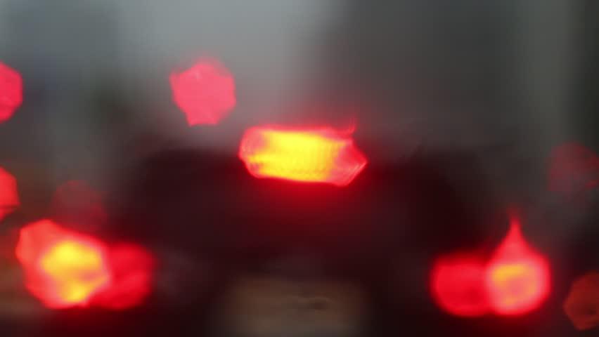 Heavy raining night | Shutterstock HD Video #10124750