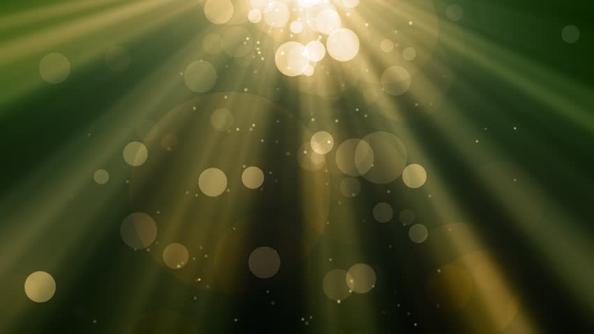 Abstract bokeh Particles with shining light rays background animation suited for broadcast, commercials and presentations. | Shutterstock HD Video #1012517240