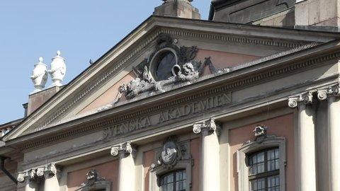 Swedish Academy. Nobel Prize. Stockholm. Sweden. Nobel Museum.