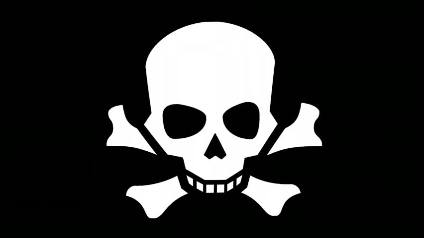 Pirates Flag Symbol Piracy Death Stock Footage Video (100% Royalty-free)  1013142440 | Shutterstock